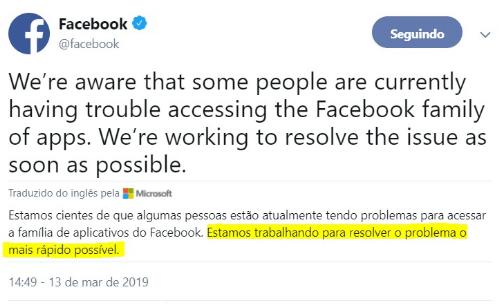 Afinal de quem é a culpa na instabilidade do Facebook, e como sua empresa vem utilizando as redes sociais? 1
